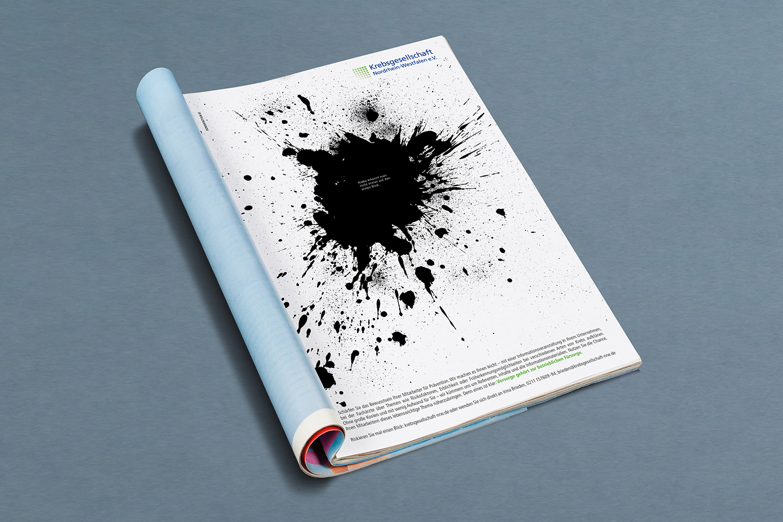 Werbung Krebsgeselschaft NRW Die Werbtätigen Anzeige