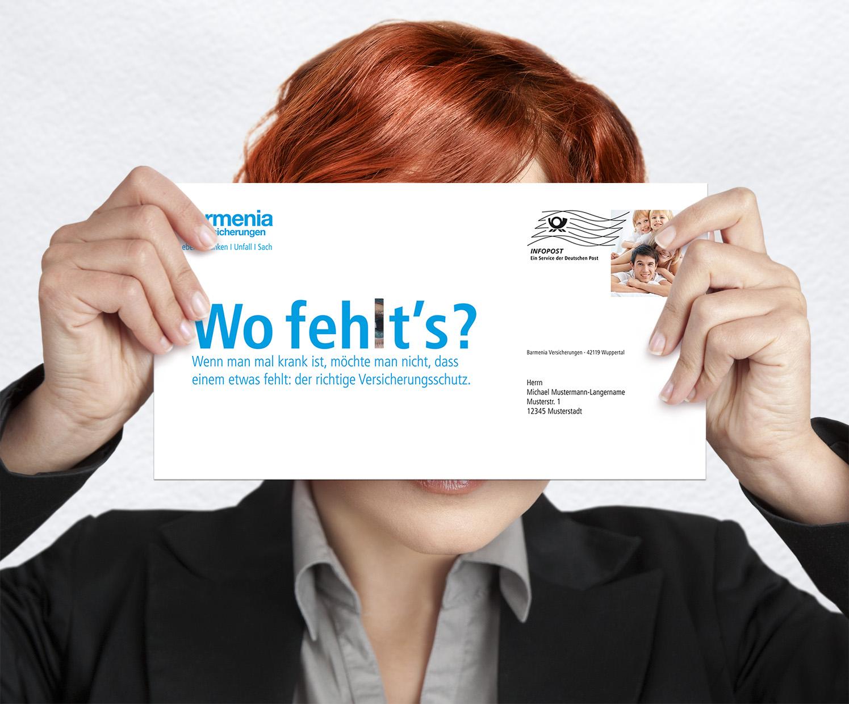 Werbung Barmenia Versicherungen Die Werbtätigen Plakat