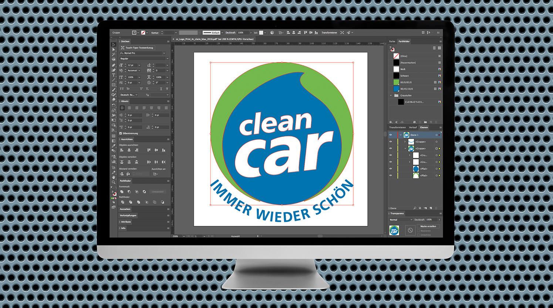 Werbung CleanCar Die Werbtätigen Logo