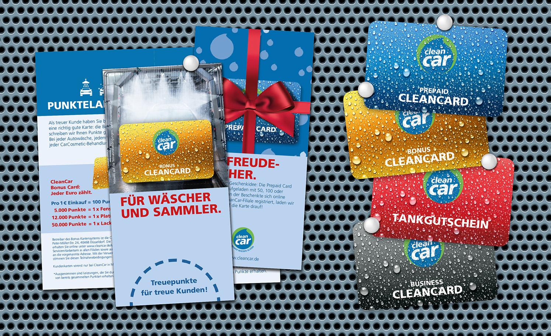 Werbung CleanCar Die Werbtätigen Flyer