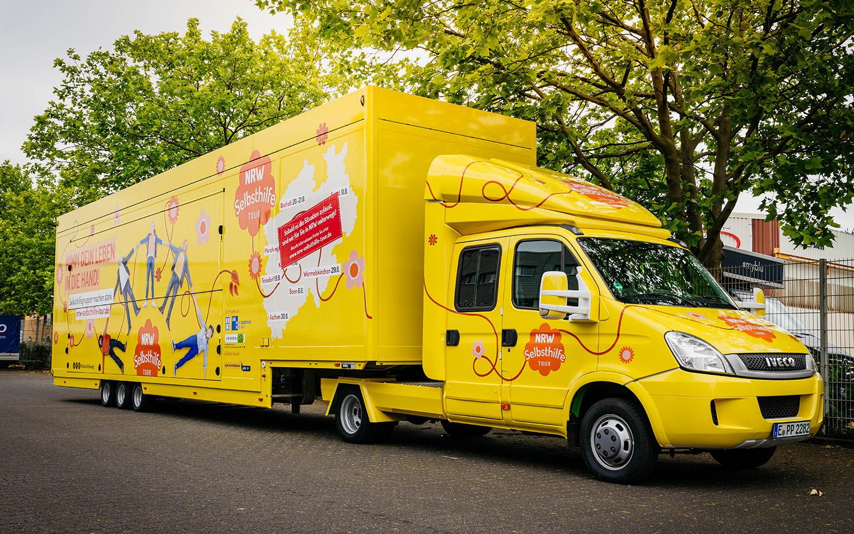 Die Selbsthilfe in NRW – Die Werbtätigen Selbsthilfe-Tour 2020